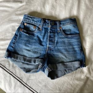 Levi's High Rise Wedgie Fit Short